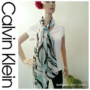 💐Calvin Klein Contempo Animal-Like Print Scarf